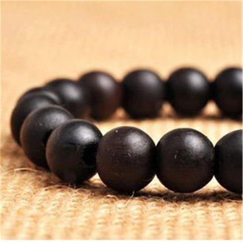 Image of Buddha Yoga Bead Coin Bangle Bracelets
