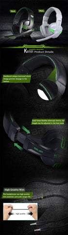 Image of 3.5mm Wired Earphone Gaming Headset