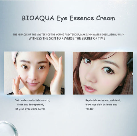 Image of 10pcs/lot BIOAQUA Hyaluronic Acid Essence Eye  Remove Dark Circles Anti-Aging