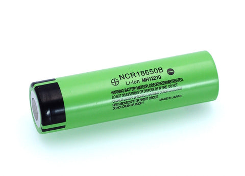 Image of Original NCR18650B 3.7 v 3400 mah 18650 Lithium Rechargeable Battery For Panasonic