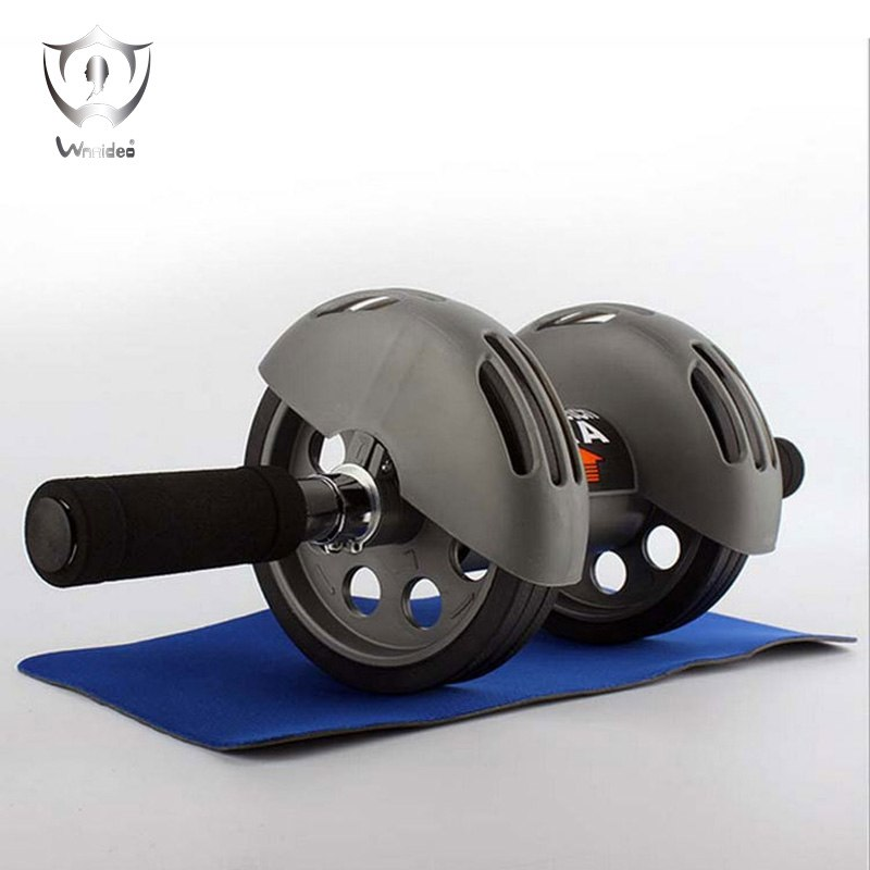 Heavy duty Dual Wheels Ab Roller Fitness Equipment