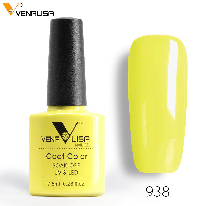 Gel Varnish Lacquer Nail Art DIY 60 Colors