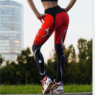 Sexy Heart Shaped Fitness Leggings