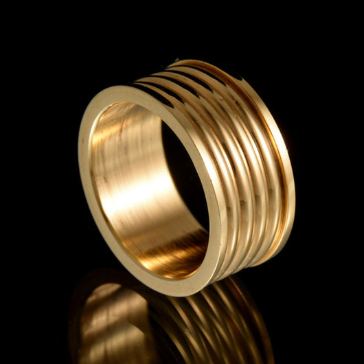 Premium Titanium Stainless Steel Ring