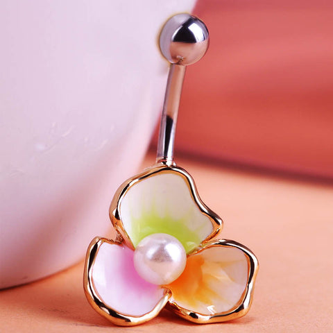 Image of Illuminati Esmaltes Enamel Pearl Beads Rings