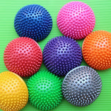 Inflatable Half Sphere Yoga Balls PVC Massage Fitball Exercises