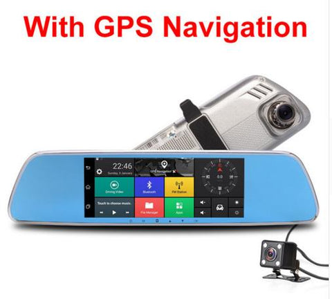 "Image of 3G Car Camera 7"" Touch screen Android 5.0 GPS"
