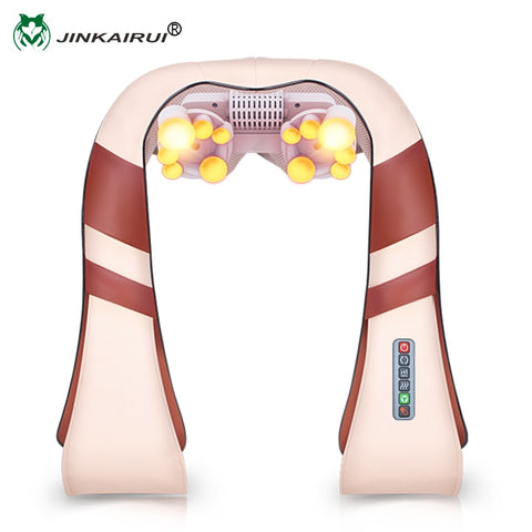 U Shape Electrical Shiatsu Back Neck Shoulder Massager