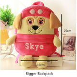 Cute Plush Dog Backpacks