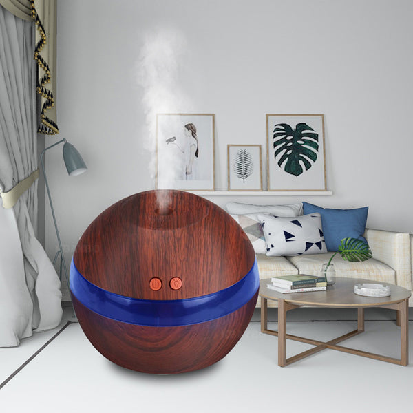 USB Ultrasonic Humidifier 290ml Aroma Diffuser