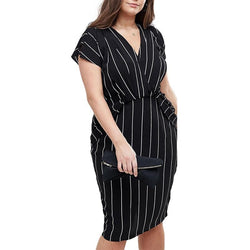 Office Lady Midi Dress