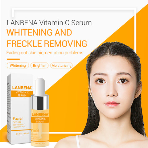 Vitamin C Whitening Serum Hyaluronic Acid Face Cream Snail Remover Freckle