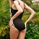 Sexy Halter Backless Swimwear