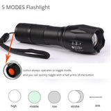 Military Grade Tactical LED Flashlight 8000Lumens CREE XM-T6/L2