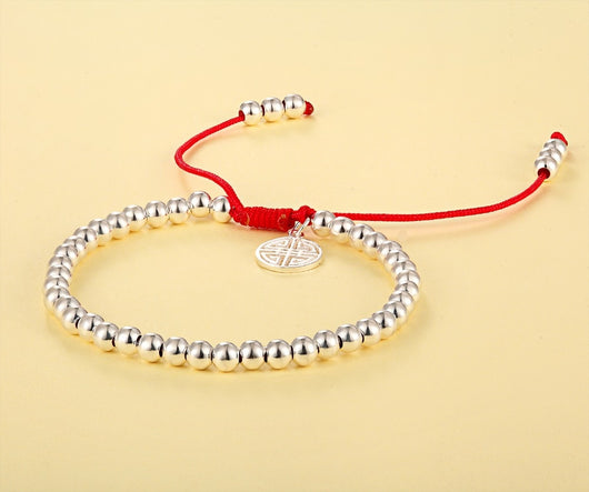 Lucky Red Rope Shambala Bracelet