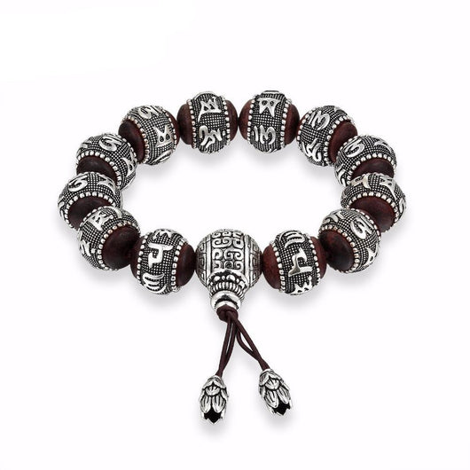Sandalwood Traditional Tibetan Buddhism Bracelet