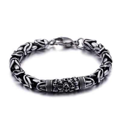 Image of Punk Skeleton Chain Bracelets