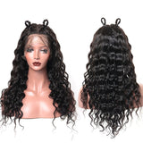 Lace Front Human Hair Wigs Loose Wave 150% Density