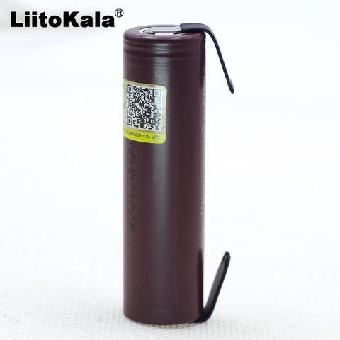 LG HG2 18650 3000mAh electronic cigarette rechargeable battery high-discharge