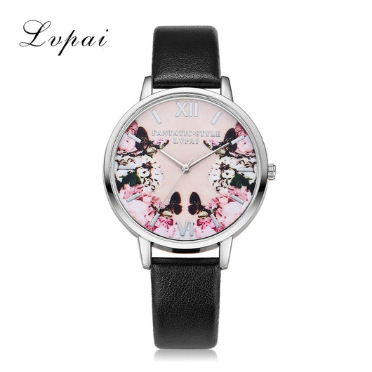 Butterfly Ladies Bracelet Dress Wristwatch