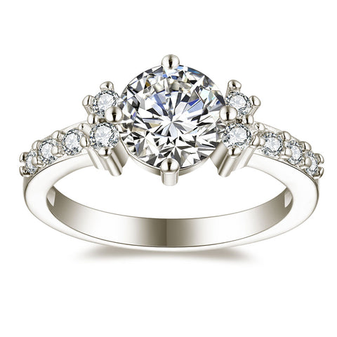 Image of Premium AAA Zircon Engagement Rings