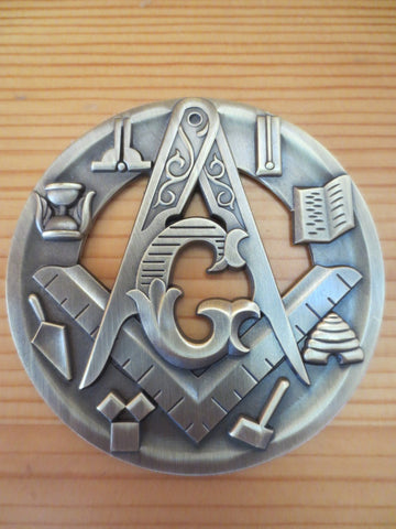 Image of Auto Masonic Badge