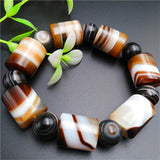 Trendy Natural Stone Beaded Bracelet