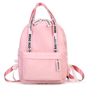 Large Capacity Preppy School Bags For Girls Teenagers