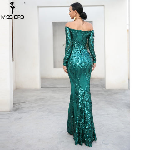 Image of Sequin Maxi Dress
