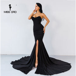 Sexy wrapped Chest Asymmetric Maxi Dress