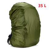 35 / 45L Adjustable Waterproof Dustproof Backpack Rain Cover