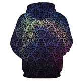 Space Galaxy 3D Sweatshirts With Hat Men & Women Autumn Thin Totem Hoodies