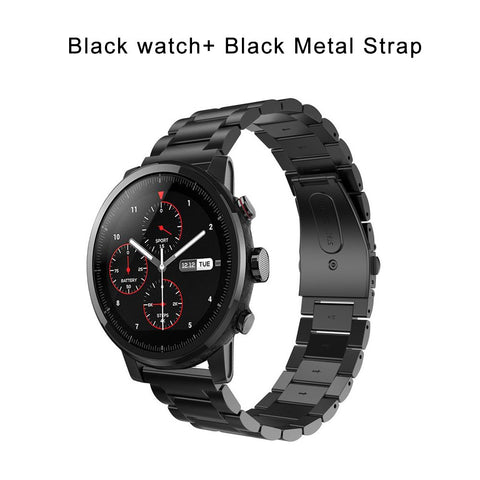Image of Xiaomi Huami Amazfit Stratos 2 Smart Watch Sports GPS 5ATM Water 1.34' 2.5D Screen GPS