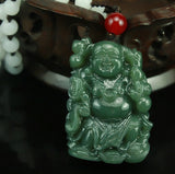 Natural Hand-carved Chinese Hetian Jade Pendant