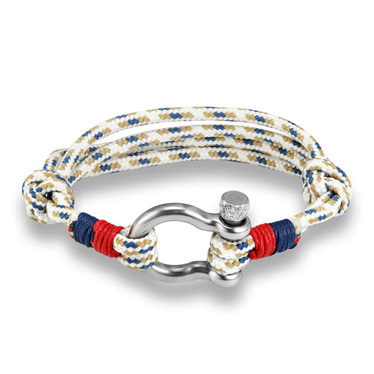 Navy Style Sport Camping Parachute cord Survival Bracelet