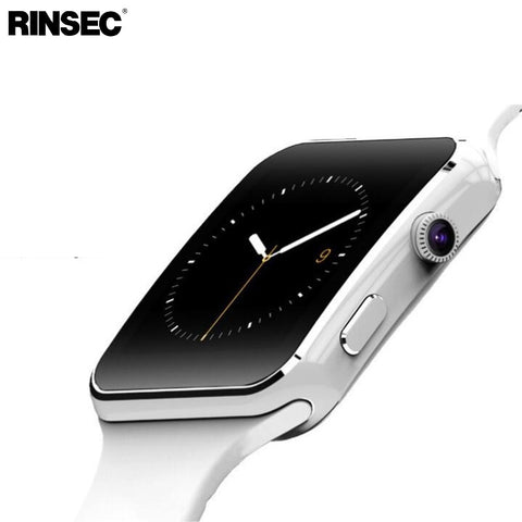 Image of X6 Smart Watch with Camera Touch Screen Support SIM TF Card