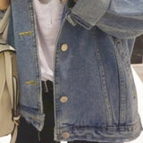 Denim Harajuku Bf Wind Jean Jacket
