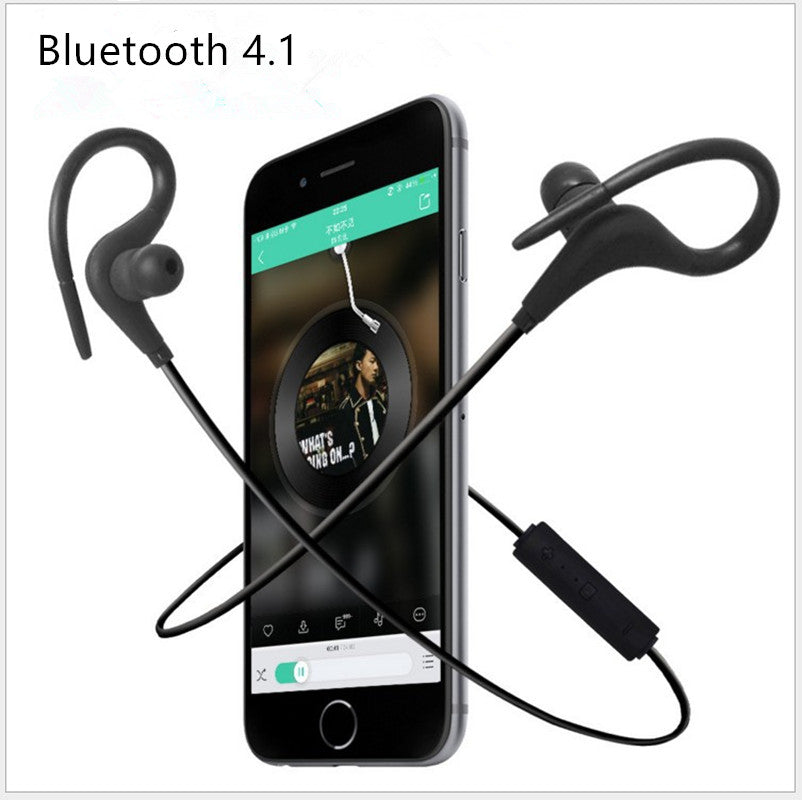 V4.1 Wireless Sport Earbuds With Micro For Iphone 7 6 Huawei Android