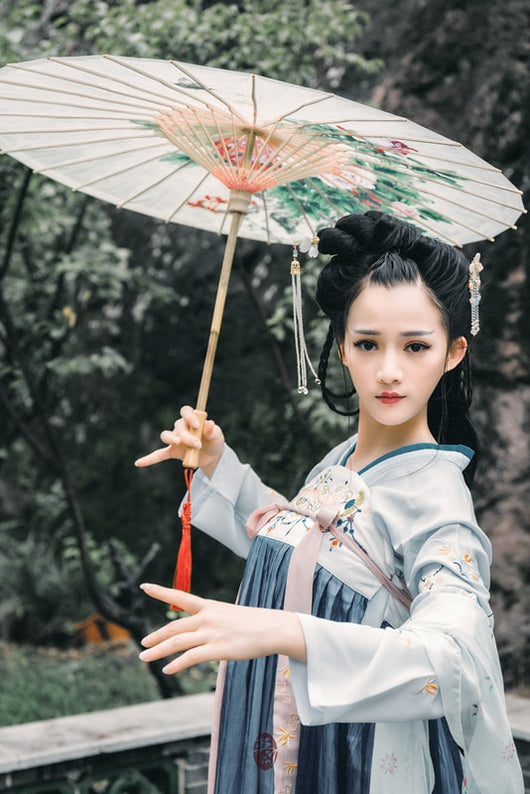 Full-skirt Tang Suit Series Full-breasted Daily Improvement Hanfu Full-skirt