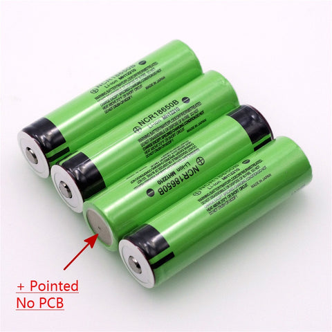 Image of Original 18650 3.7 v 3400 mah Lithium Rechargeable Battery NCR18650B