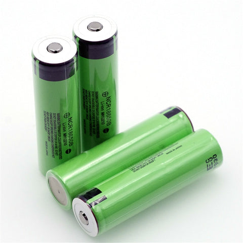 Original 18650 3.7 v 3400 mah Lithium Rechargeable Battery NCR18650B