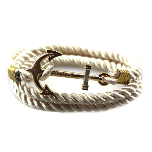 Vintage Woven Multilayer Anchor Bracelets & Bangles