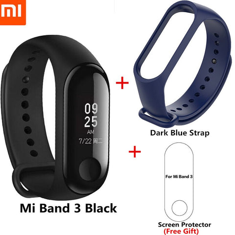 Image of Original Xiaomi Mi Band 3 Smart Band Swimming Waterproof Smart Bracelet