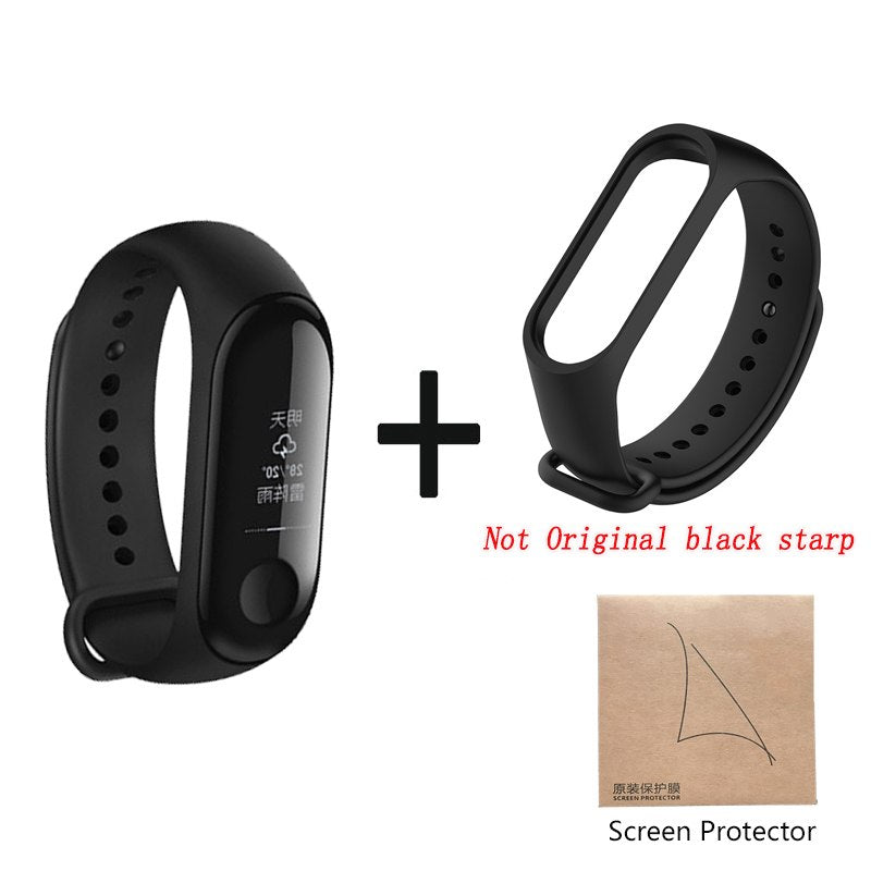 Original Xiaomi Mi Band 3 Smart Wristband Fitness Bracelet MiBand Band 3 Big Touch Screen