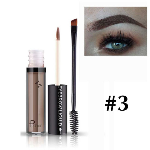 Image of Natural Eyebrow Tint Kit Pigment Waterproof Eyebrow Enhancer Gel