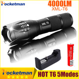 XM-L T6 Tactical LED Flashlight