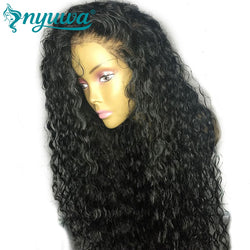 Full Lace Human Hair Wigs With Baby Hair Natural Hairline