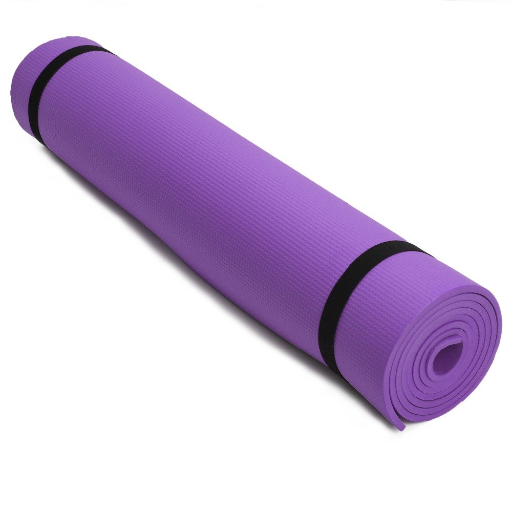 Premium 6MM Thick EVA Yoga Exercise Mat Fitness