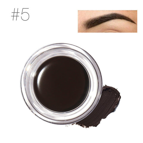 Pigment Eyebrow Gel With Brow Brush