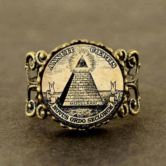 Illuminati Freemason Ring